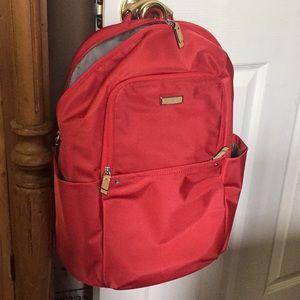 NWOT Tumi Voyager Red Andorra laptop backpack